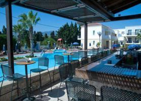 Ostrov Kos a hotel Aegean Houses s pool barem