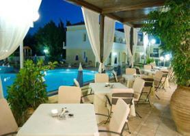 Ostrov Kos a hotel Aegean Houses s terasou