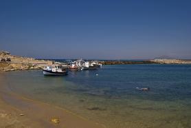 Ostrov Kos s pláží Limnionas