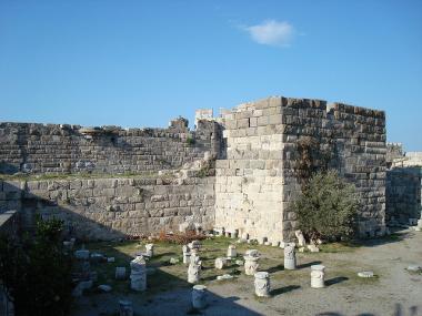 Pozůstatky Chory ve městě Kos