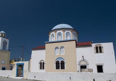 Asfendiou - ortodoxní kostel
