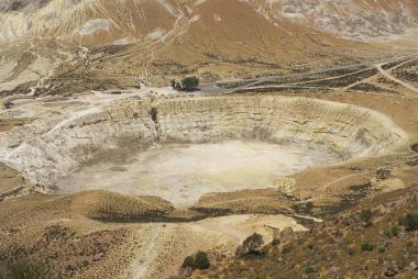 Nisyros - kráter