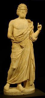 Socha Asklépia, boha léčitelství