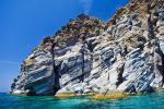 Nisyros - skalnaté pobřeží